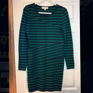 Michael Kors Striped Sweater Dress